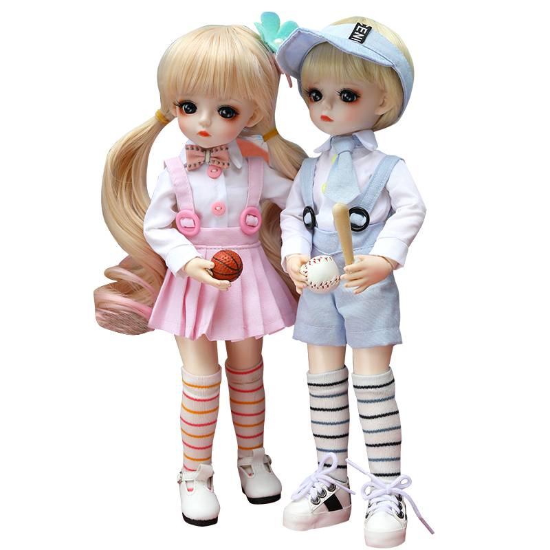 多丽丝卡密儿娃娃30cm正bjd娃娃6分体仿真实体关节洋娃娃玩具女孩