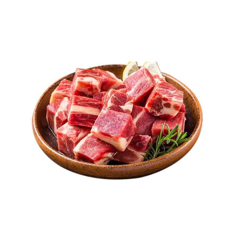 生鲜牛腩肉冷冻牛肉粒新鲜牛腩肉谷饲牛肉原切牛腩块2kg红烧牛腩