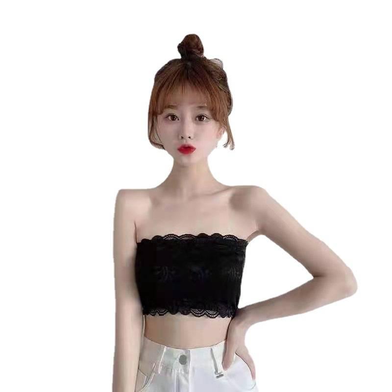 美背女无肩带抹胸内衣学生韩版吊带小背心女内穿防走光裹胸文胸T