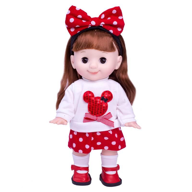 多丽丝会说话的智能巴比娃娃仿真洋娃娃对话唱歌眨眼婴儿玩具女孩