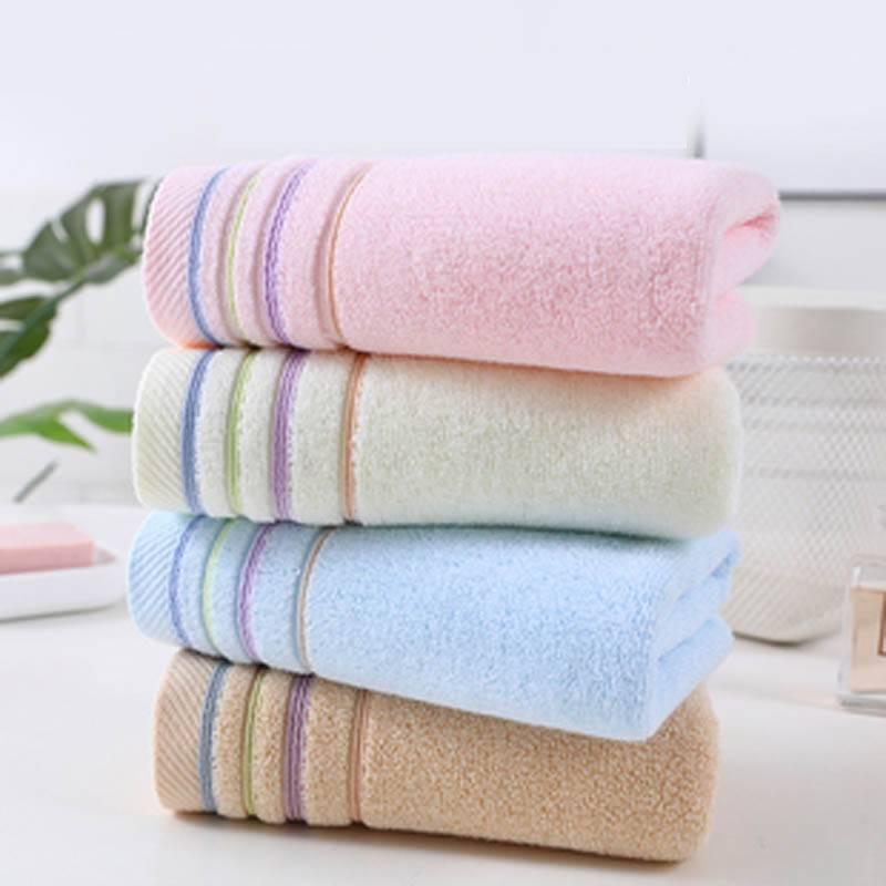 毛巾吸水不掉毛纯棉柔软情侣洗脸家用干发巾成人洗澡速干男女面巾