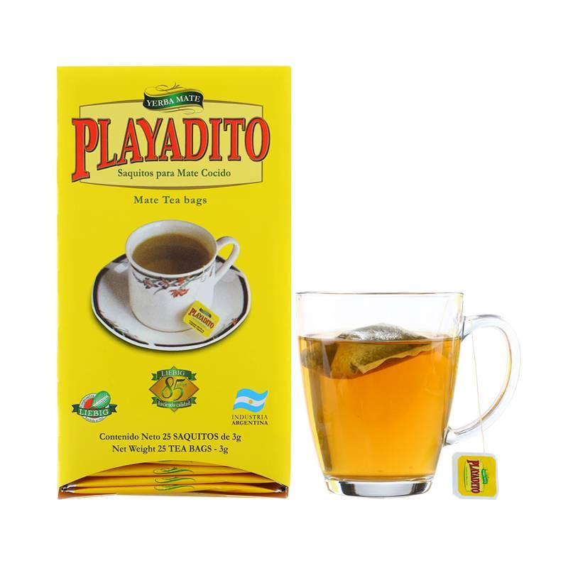 【买2送1】阿根廷原装进口纯马黛茶叶养生解腻袋泡茶饮马代茶包