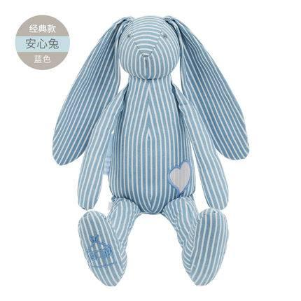婴儿安抚巾兔公仔玩偶可入口手偶布偶娃娃宝宝新生儿哄睡毛绒玩具