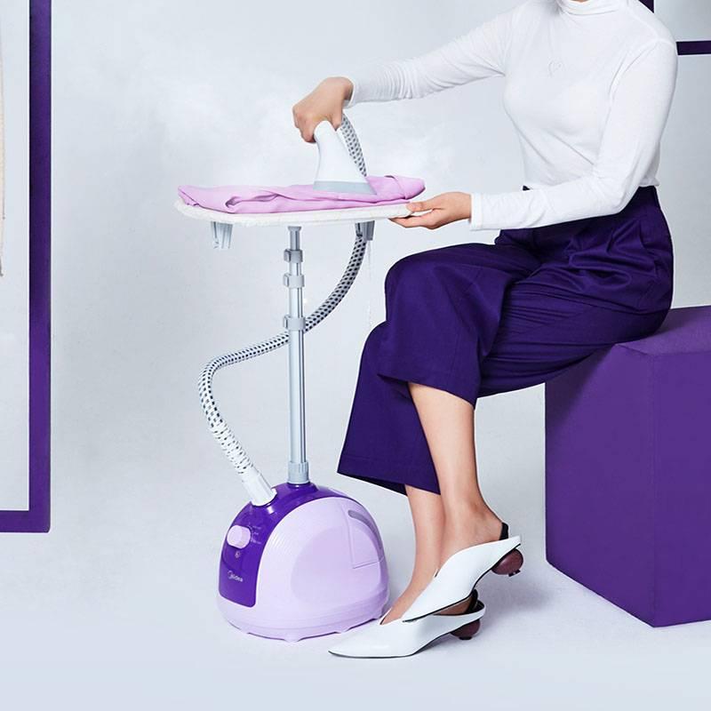 美的挂烫机家用蒸汽小型手持熨斗挂立式烫衣机衣服熨烫机熨衣服机