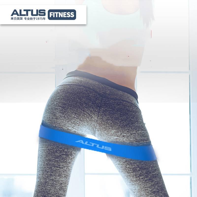 拉力带瑜伽带弹力圈阻力拉伸带翘臀虐臀健身男女力量训练深蹲运动