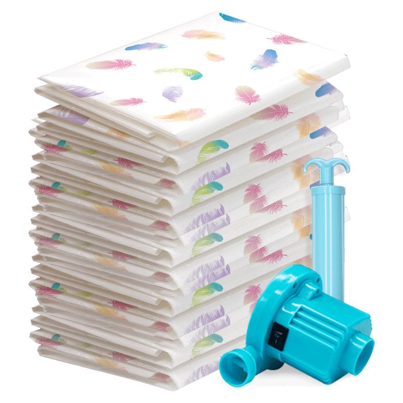 抽空气真空压缩袋大号被褥行李箱专用装棉被子子衣物整理收纳袋子