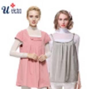优加防辐射服孕妇装正品全银纤维吊带围裙内外穿怀孕期四季上班族