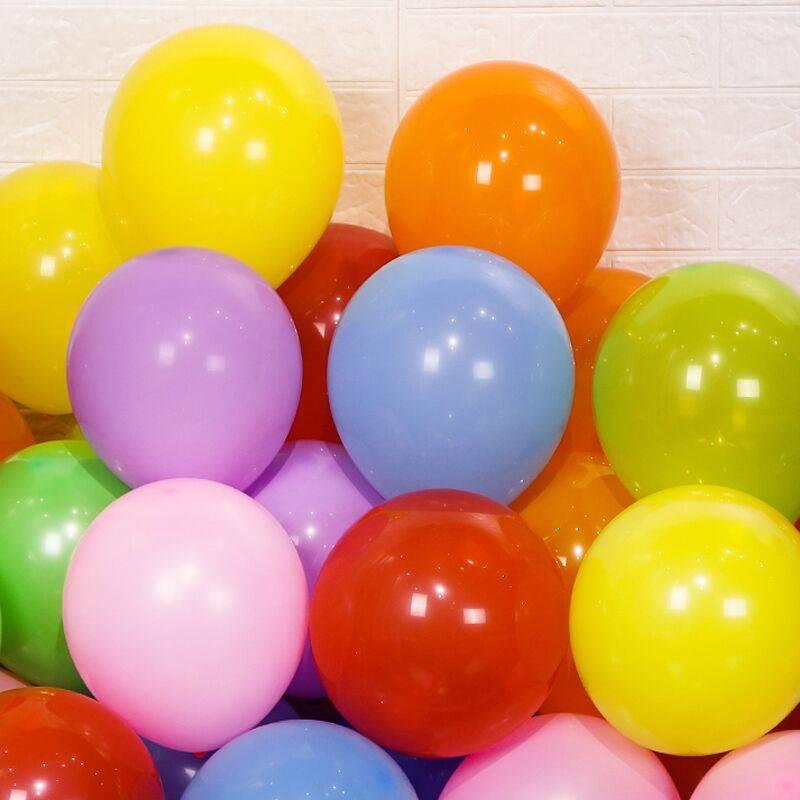 广告气球定制印字定做logo文字图案印刷二维码幼儿园汽球订做包邮