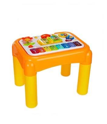 谷雨儿童多功能 游戏桌宝宝学习桌玩具台1-3岁婴幼儿早教益智玩具
