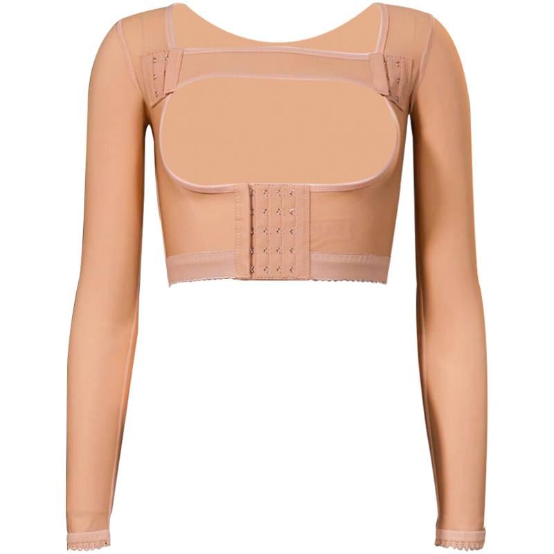 倩美手臂吸脂塑身衣瘦后背胳膊束臂衣夏季加压上身术后抽脂塑形衣