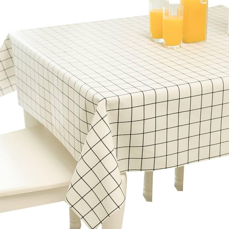 软塑料玻璃PVC桌布防水防烫防油免洗透明餐桌垫胶垫水晶板茶几垫