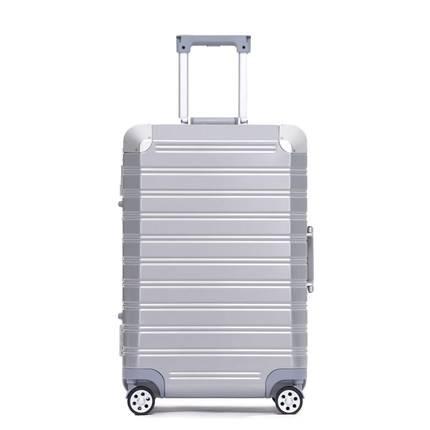 行李箱铝框箱张小盒拉杆箱静音万向轮登机箱男女20寸、24寸旅行箱