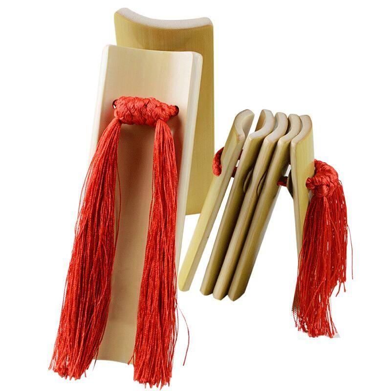 专业快板竹板儿童成人学生  初学入门演奏山东天津响板赠袋子乐器