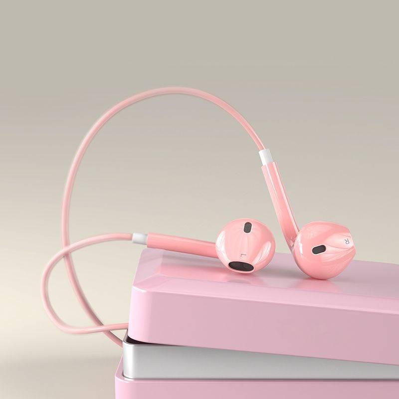 vivo耳机x9安卓入耳式通用vivox20x21vivoy67oppor9s r11华为原装正品女生韩版可爱潮卡通萌糖果色少女心有线