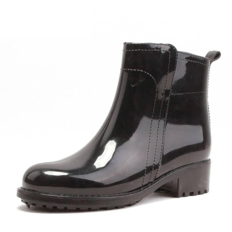 雨鞋女韩国时尚款外穿平冬季加绒保暖防滑胶鞋女防水鞋女雨靴短筒