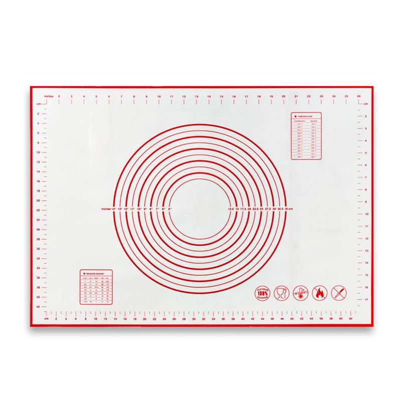 大号加厚硅胶垫擀面垫揉面垫和面板防滑案板家用不粘面包烘焙垫子