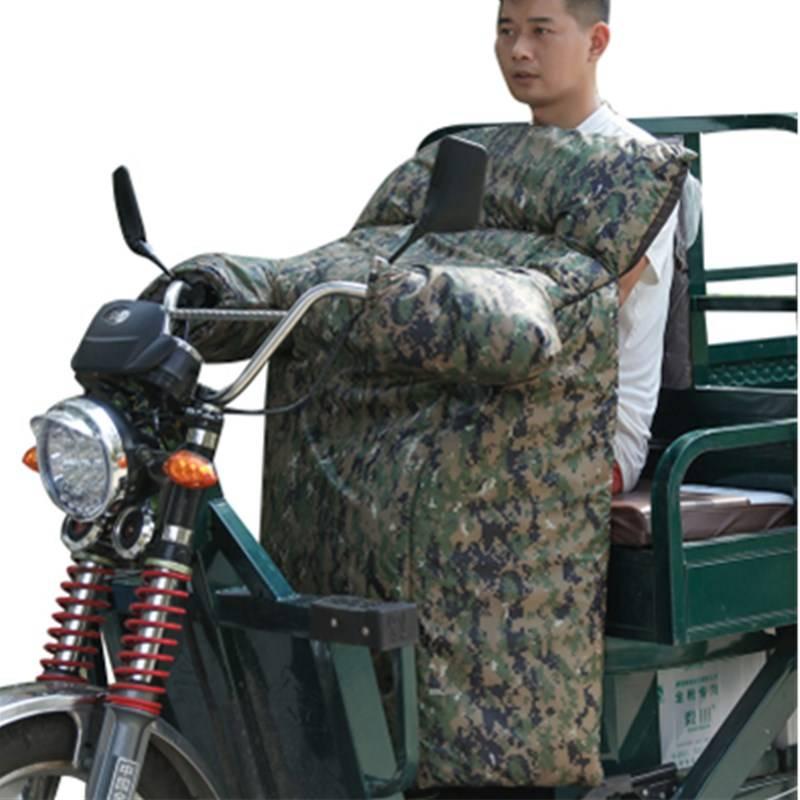 电动三轮车挡风被冬季加大加厚双面防水保暖踏板摩托车电动车通用