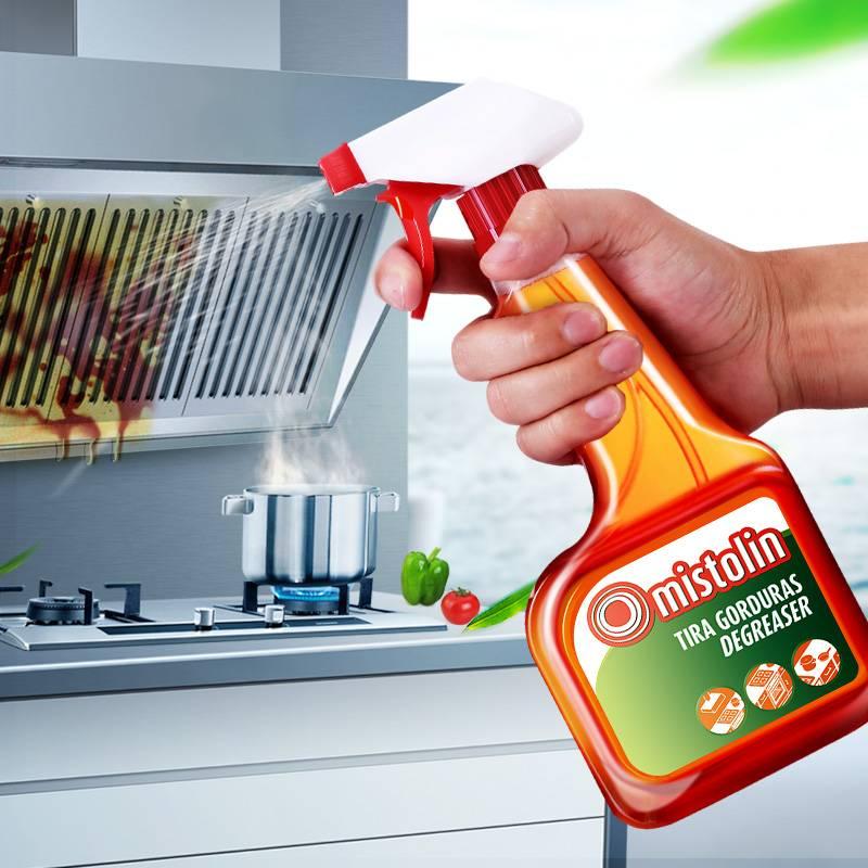 Mistolin排油烟机清洗剂厨房重油污净强力去油污清洁剂一喷净神器