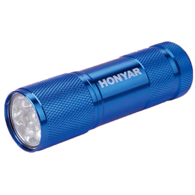 康铭LED家用可充电手电筒强光超亮远射户外露营袖珍迷你便携照明