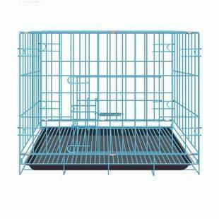 狗笼子小型犬猫笼子宠物笼子大型犬带厕所家用室内中型犬猫狗别墅