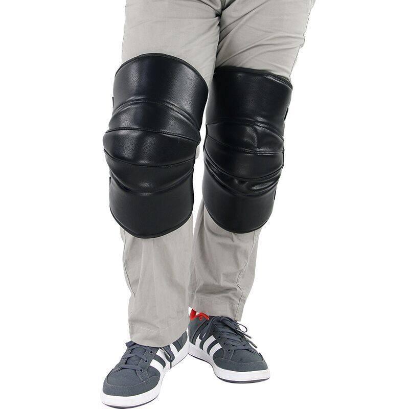 冬季骑摩托车护膝保暖护腿挡风骑车防寒骑行防风男羊毛电动车护膝