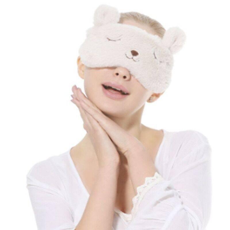 蒸汽眼罩热敷USB充电加热睡眠遮光透气女可爱韩国睡觉缓解眼疲劳