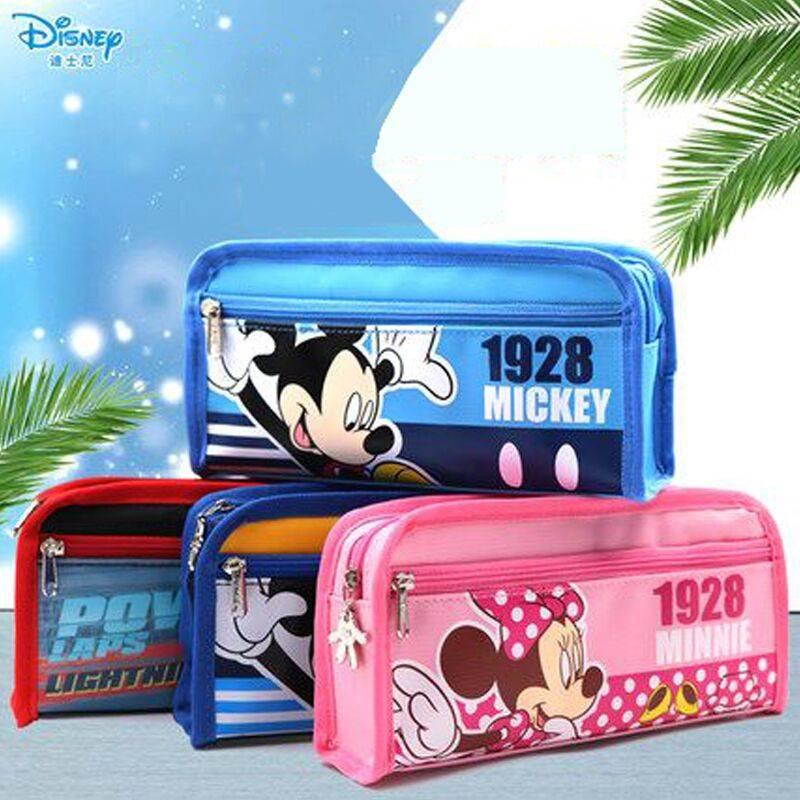 【迪士尼】小学生文具盒大容量笔袋