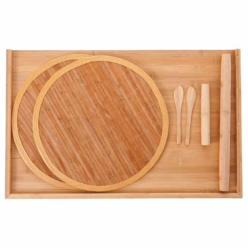 双枪擀面板家用和面板 大号水饺案板 实木大号家用竹切菜板不沾面