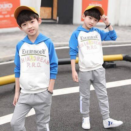 男童春装套装2018新款春季儿童运动休闲韩版童装春秋款两件套潮衣