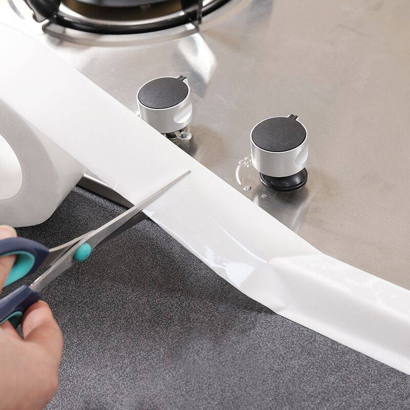 厨房防霉防水胶带防潮水槽缝隙填补美缝贴马桶贴条墙角线贴密封条