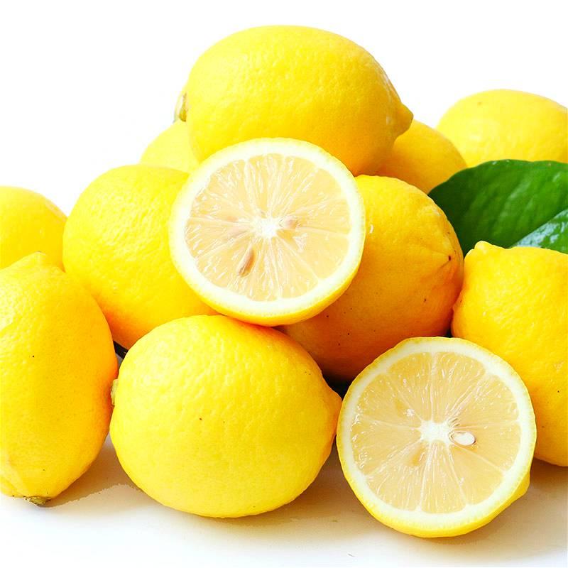 安岳黄柠檬现摘新鲜农家自种不打蜡水果柠檬片20个装批发包邮