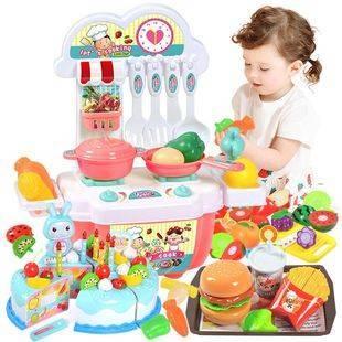 22件套!儿童过家家厨房仿真玩具