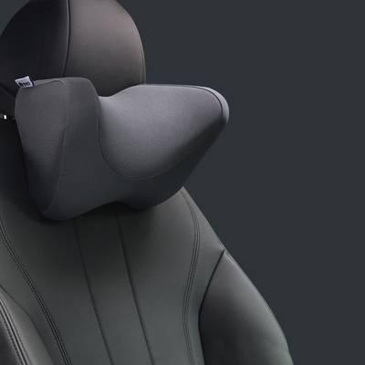 汽车头枕护颈枕 车上记忆棉靠枕车载车内U型睡觉神器一对颈椎用品