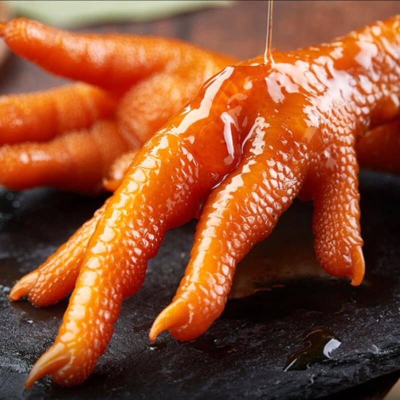 香之派多味鸡爪20包酸辣凤抓鸡爪子小零食可以吃很久的休闲肉食品