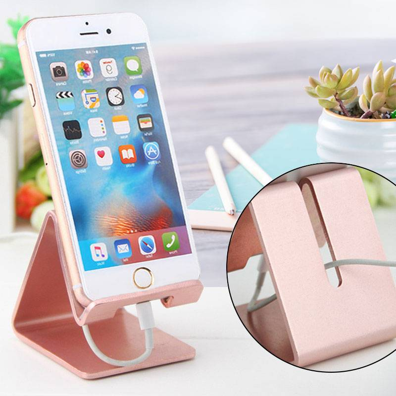 金属手机支架坚固稳/通用iPhone安卓自拍杆vivo小米OPPO华为三星