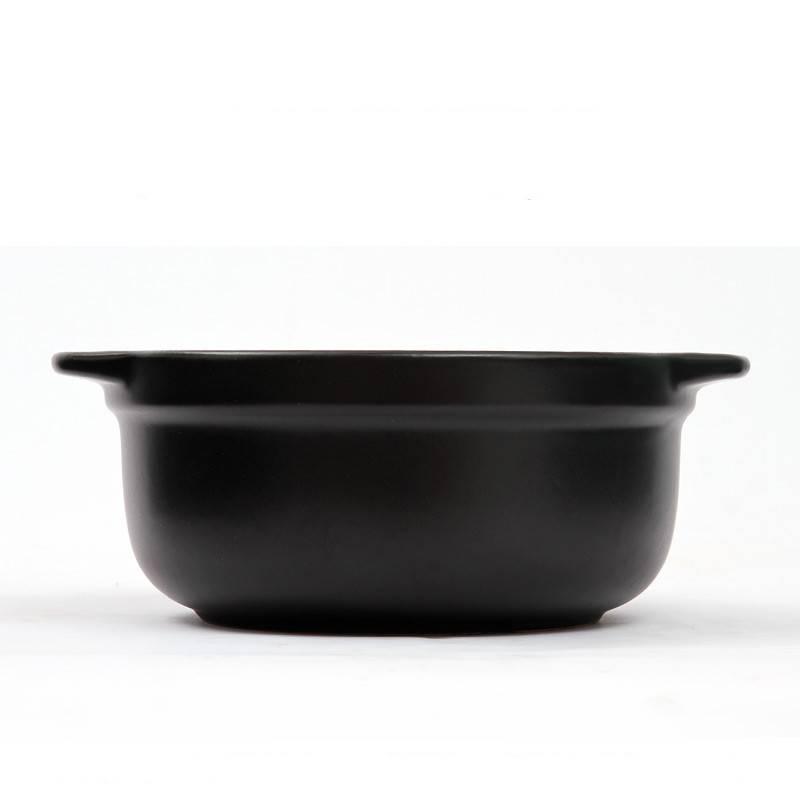 华美冠麻辣烫砂锅明火耐高温炖锅砂锅米线土豆粉丝专用陶瓷干烧锅