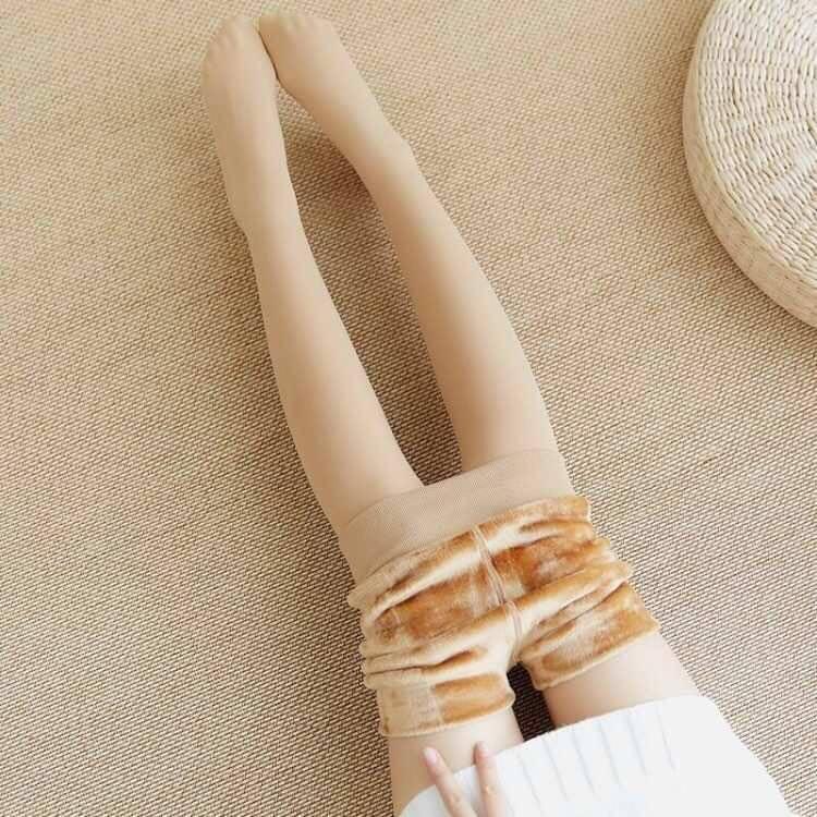 光腿肉色打底裤加绒女外穿神器秋冬高腰显瘦韩版肤色加绒加厚丝袜