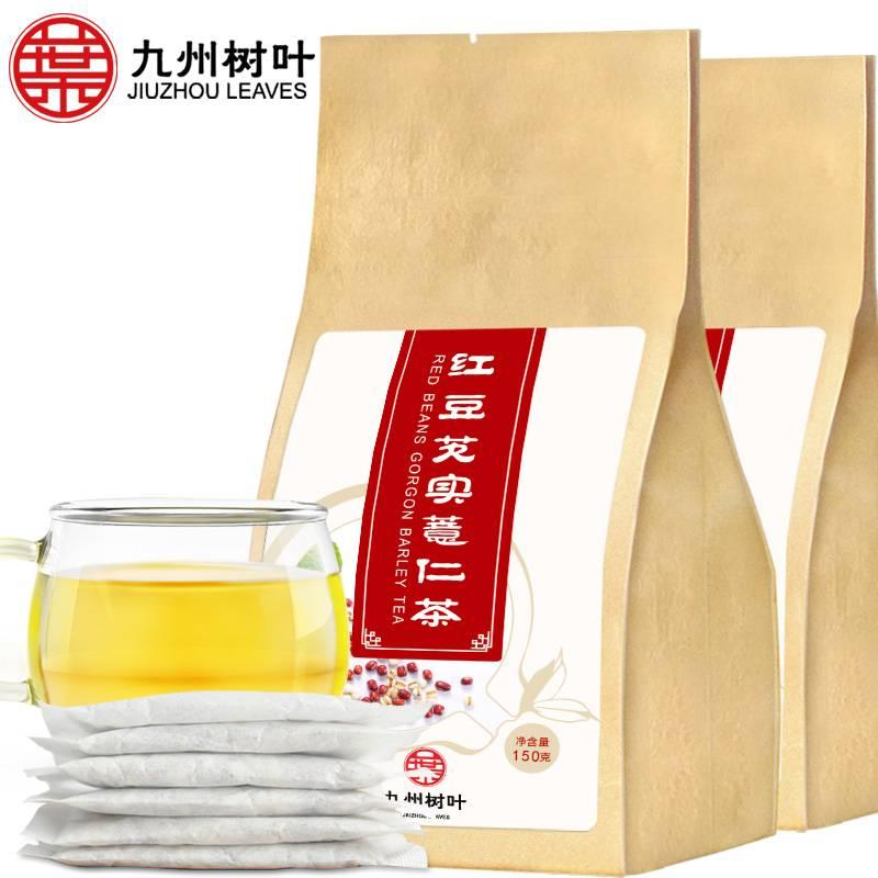 紅豆薏米芡實茶赤小豆紅薏仁米茶苦蕎大麥茶葉茶包薏米水花茶組合