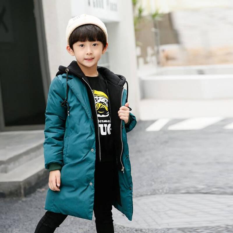 男童棉衣2019新款儿童冬装外套加厚羽绒棉袄中大童冬季棉服男孩潮