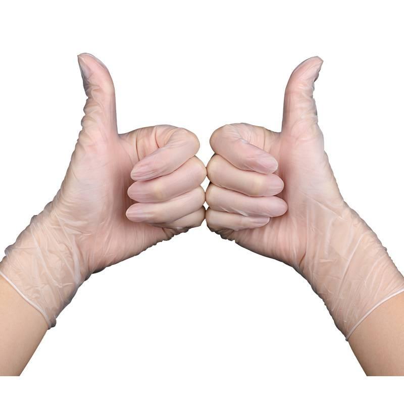 乳胶一次性手套食品级橡胶家用餐饮耐磨加厚洗碗防护女美容院专用