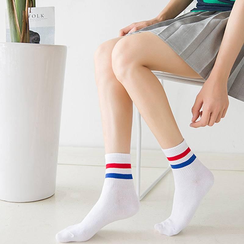 袜子女中筒袜短袜船袜女纯棉浅口隐形硅胶防滑秋季韩国可爱学院风