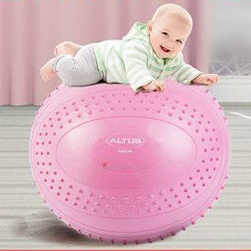 加厚防爆颗粒大龙球正品感统训练球瑜伽球按摩球婴儿童宝宝健身球