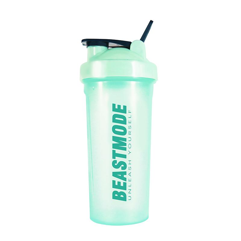Beast Mode 健身杯子摇摇杯刻度男女奶昔杯运动水杯便携蛋白粉杯