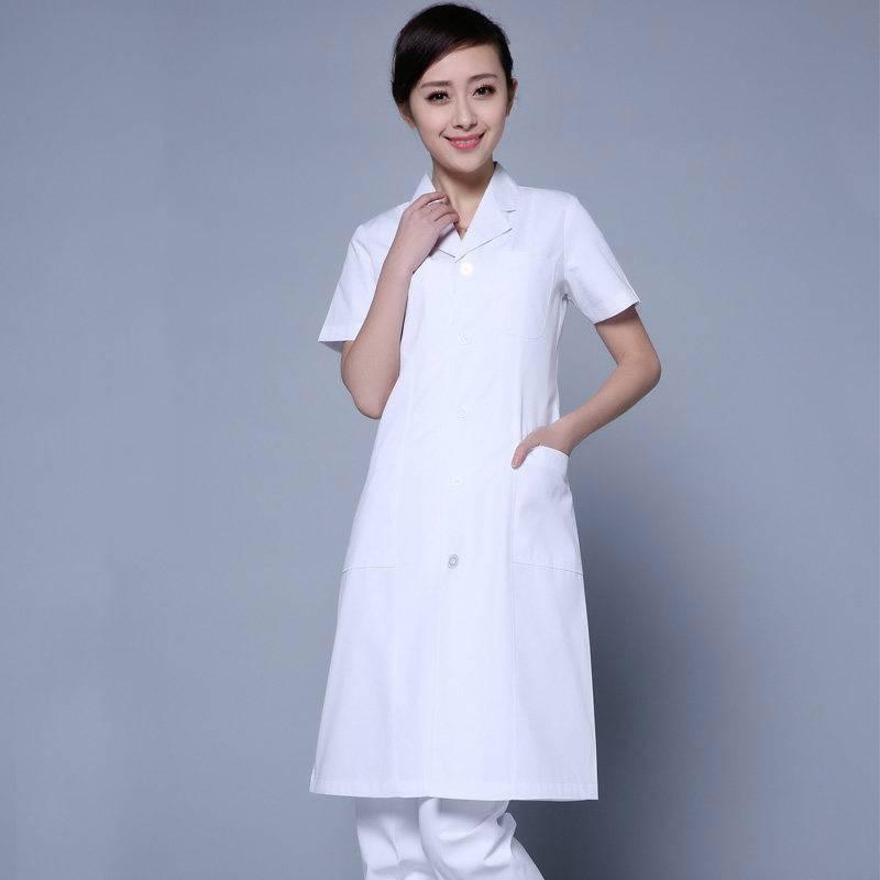 白大褂医生服护士服长短袖男女美容院牙科医院工作服夏季实验服