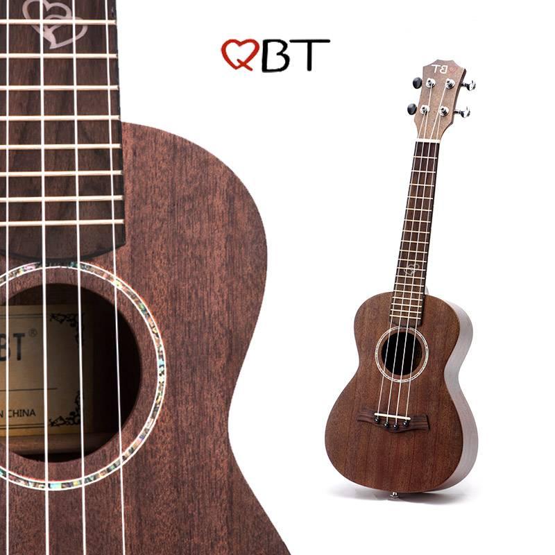 尤克里里小吉他初学者全单板学生入门成人少女心儿童23寸民谣乐器