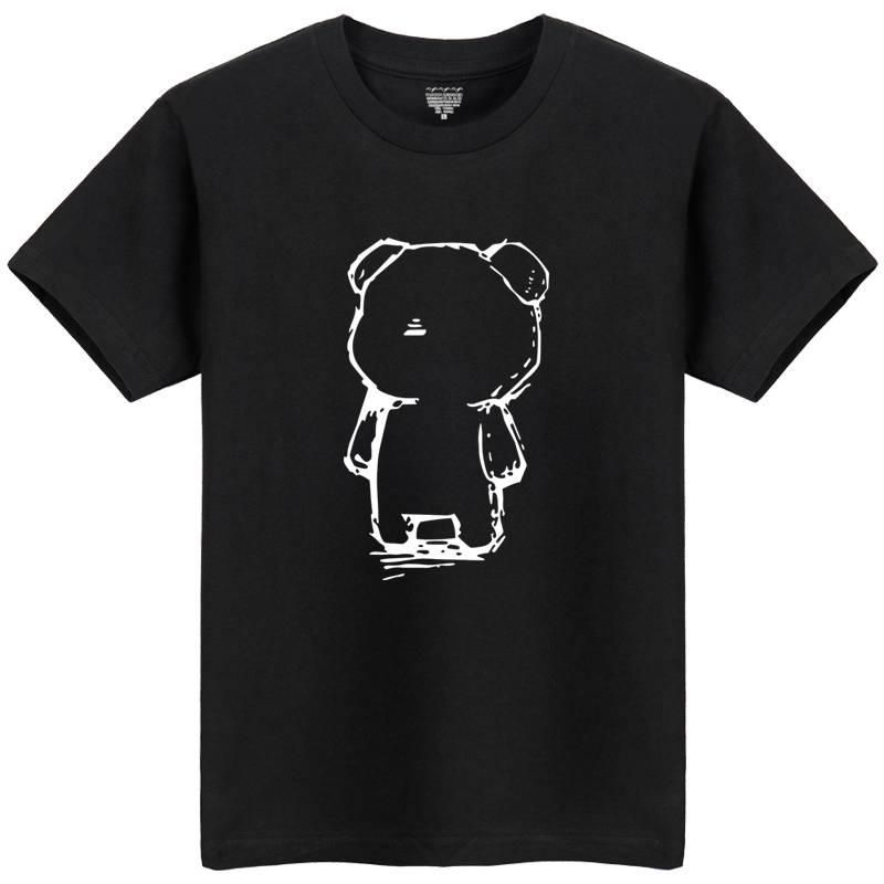 夏季男士圆领运动t恤潮男装韩版半袖大码青少年学生宽松纯棉短袖