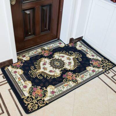 欧式进门地垫门垫入户门厅地毯家用门口入门脚垫子客厅定制可裁剪
