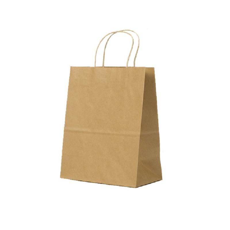 牛皮纸袋手提袋包装袋礼品袋打包袋服装袋子批发定做定制印刷logo