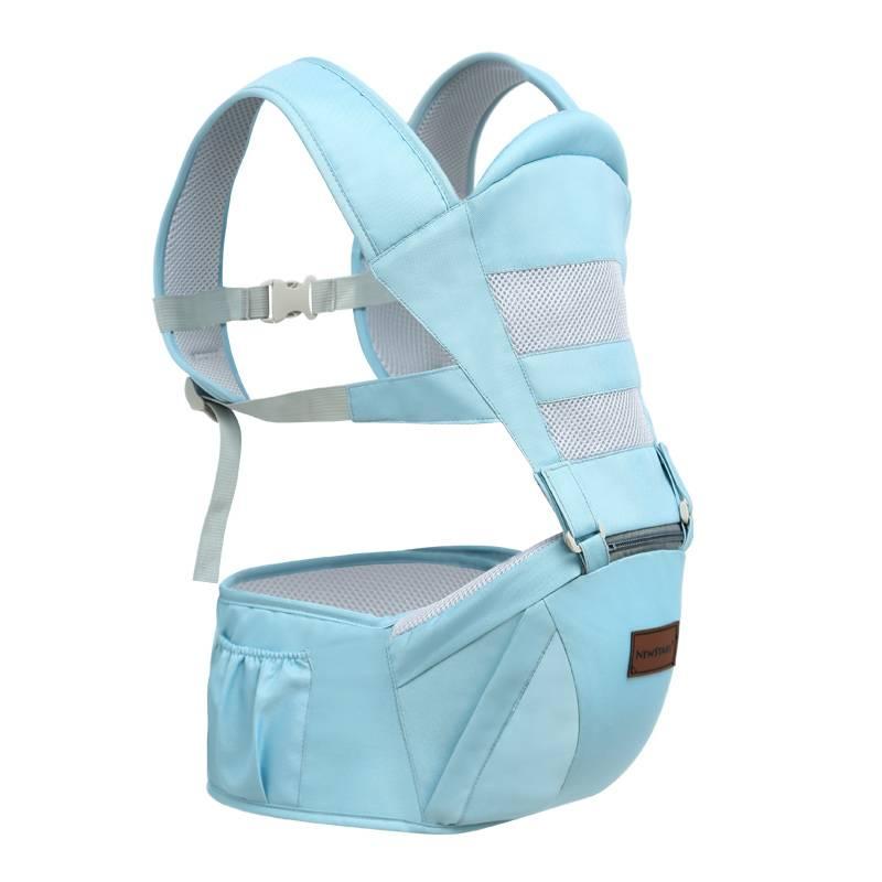 婴儿腰凳宝宝背带多功能前抱式四季通用抱娃神器轻便单凳夏季透气