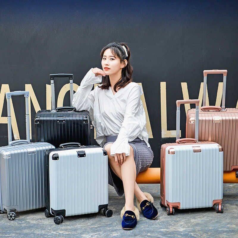 拉杆箱网红ins女行李箱万向轮20寸小型密码皮箱男韩版24旅行箱子